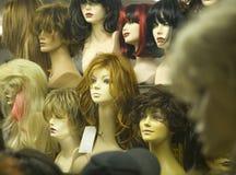 De hoofden van de mannequin stock foto's