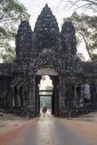 De hoofdingang aan de complexe tempel Royalty-vrije Stock Fotografie
