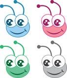 De HoofdKleuren van het insect Stock Afbeelding
