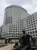 De hoofdkwartierbouw in kanariewerf, Londen Credit Suisse royalty-vrije stock foto's