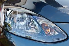 De hoofdlamp van de auto Stock Afbeeldingen