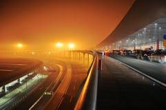 De hoofdluchthaven Stock Afbeeldingen