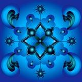 De hoofdpunten van Mandala Stock Afbeeldingen