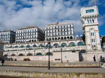 De hoofdstad van Algiers van het land van Algerije Stock Foto's