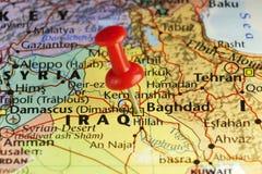 De hoofdstad van Bagdad van Irak Stock Foto