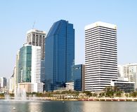 De hoofdstad van Bangkok Royalty-vrije Stock Afbeeldingen