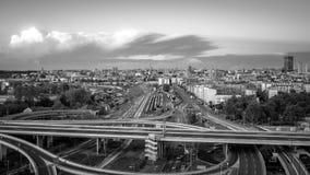 De hoofdstad van Belgrado van Servië Stock Foto's