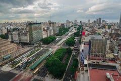De Hoofdstad van Buenos aires in Argentinië royalty-vrije stock afbeeldingen