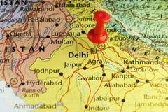 De hoofdstad van New Delhi van India Royalty-vrije Stock Afbeelding