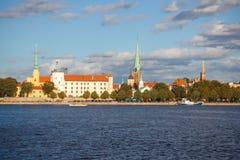 De hoofdstad van Riga van Letland Stock Foto's