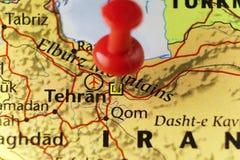 De hoofdstad van Teheran van Iran Stock Afbeeldingen