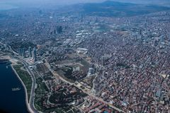 De hoofdstad van Turkije is Istanboel royalty-vrije stock foto's