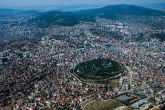 De hoofdstad van Turkije is Istanboel stock fotografie