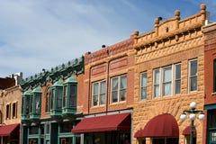 De hoofdstraat van Deadwood Stock Afbeelding
