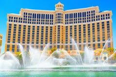 De hoofdstraat van Las Vegas is de Strook E stock fotografie