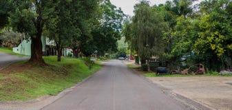 De hoofdstraat van de straatmening van Pelgrims` s Rust in Zuid-Afrika Royalty-vrije Stock Fotografie