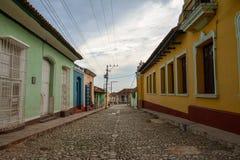 De hoofdstraat van Trinidad Royalty-vrije Stock Foto's