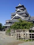 De hoofdtoren van het Kasteel van Hiroshima Stock Foto's