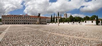 De hoofdvoorgevel van Vila Vicosa Ducal Palace Stock Afbeelding