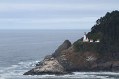De HoofdVuurtoren van Heceta op de Kust van Oregon royalty-vrije stock fotografie