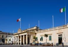 De hoofdwachtbouw, Valletta Royalty-vrije Stock Foto's