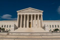 De Hooggerechtshofbouw stock foto