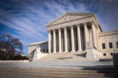 De Hooggerechtshofbouw stock afbeelding