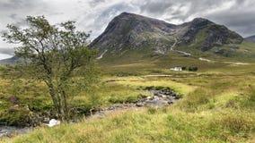 De hooglanden van Schotland Stock Foto's