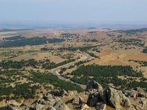 De hoogste berg op het grondgebied van Akima Cullen stock fotografie