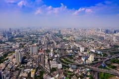 De hoogste mening van Bangkok Royalty-vrije Stock Fotografie