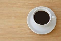 De hoogste mening van de koffiekop Royalty-vrije Stock Foto