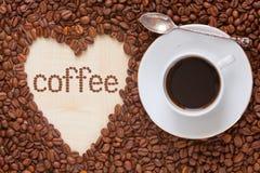 De hoogste mening van de koffiemelk Stock Foto's