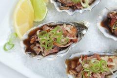 De hoogste mening van Kilpatrick van oesters royalty-vrije stock foto's