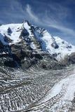 De hoogste Oostenrijkse berg Stock Foto's