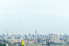 De hoogste stad van meningsbangkok Royalty-vrije Stock Foto's