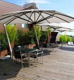De hoogste tuin van het dak Royalty-vrije Stock Foto