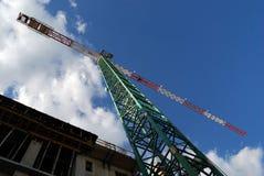 De hoogte van de bouw Stock Afbeelding