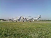 De hoogte van de de vluchthemel van de helikoptervlieg Stock Afbeelding
