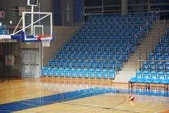 De hoogte van het basketbal Royalty-vrije Stock Afbeeldingen