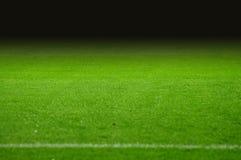 De hoogte van het voetbal Stock Fotografie