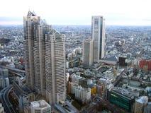 De hoogten van Tokyo Royalty-vrije Stock Foto