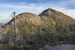 De Hooibergbergen bij Zonsondergang Stock Afbeeldingen