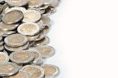 De hoop van het geld (close-upbeeld) Stock Afbeeldingen