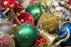 De hoop van het Kerstmisspeelgoed Stock Afbeeldingen