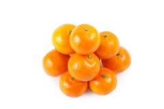 De hoop van mandarins Royalty-vrije Stock Foto's