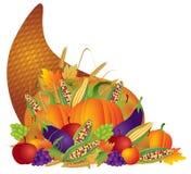 De Hoorn des overvloeds van de Oogst van de Daling van thanksgiving day Stock Foto