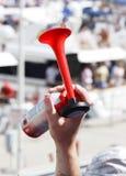 De hoorn van de lucht - één hand Stock Foto