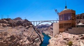De Hoover-Dam Stock Foto