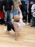 De hop van de heup - breakdance 1 Stock Fotografie