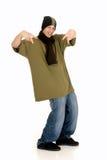De hopcultuur van de heup, tiener Stock Fotografie